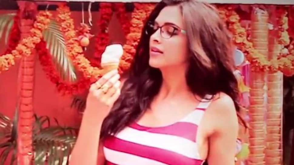 What's common between Deepika Padukone and an ice-cream cone? Click to find out