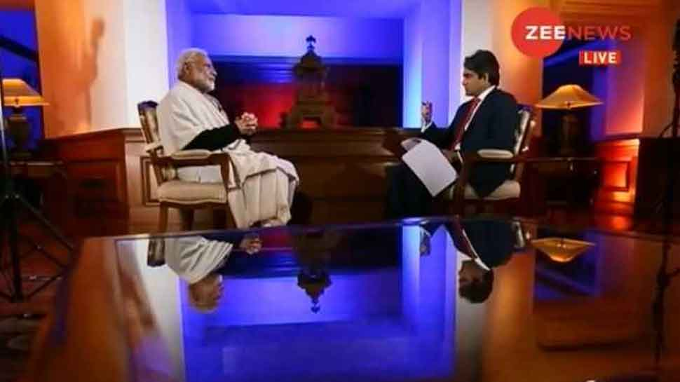 #ModiOnZee: I don't represent India as Modi but as representative of 125 cr Indians