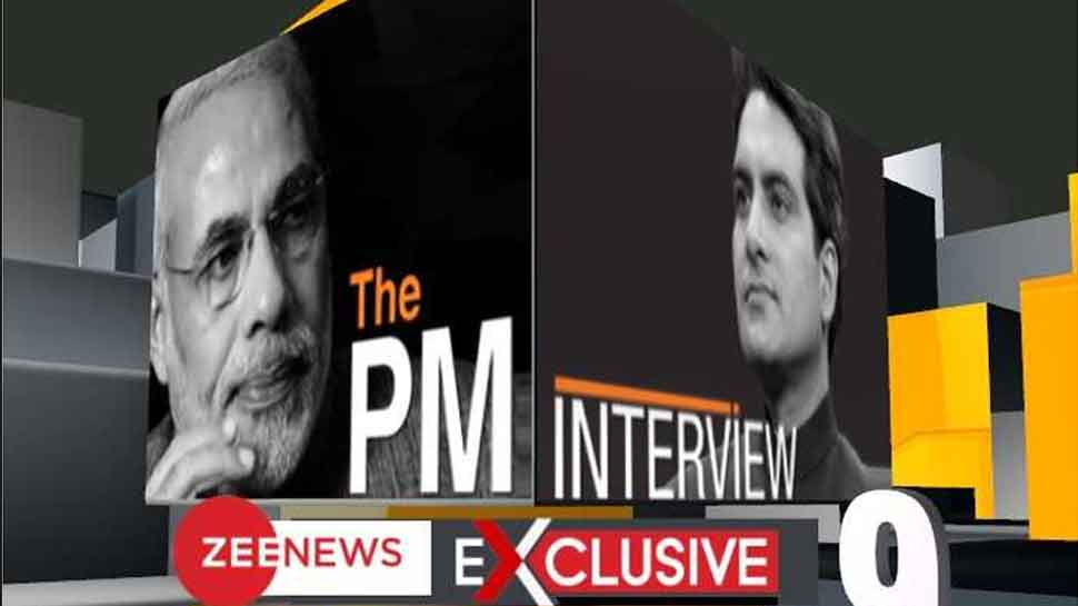 Watch live: PM Narendra Modi in conversation with Zee News editor Sudhir Chaudhary