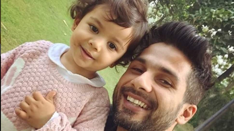 Misha Kapoor stepping in daddy Shahid Kapoor's shoes is the cutest thing you will see today—See pic