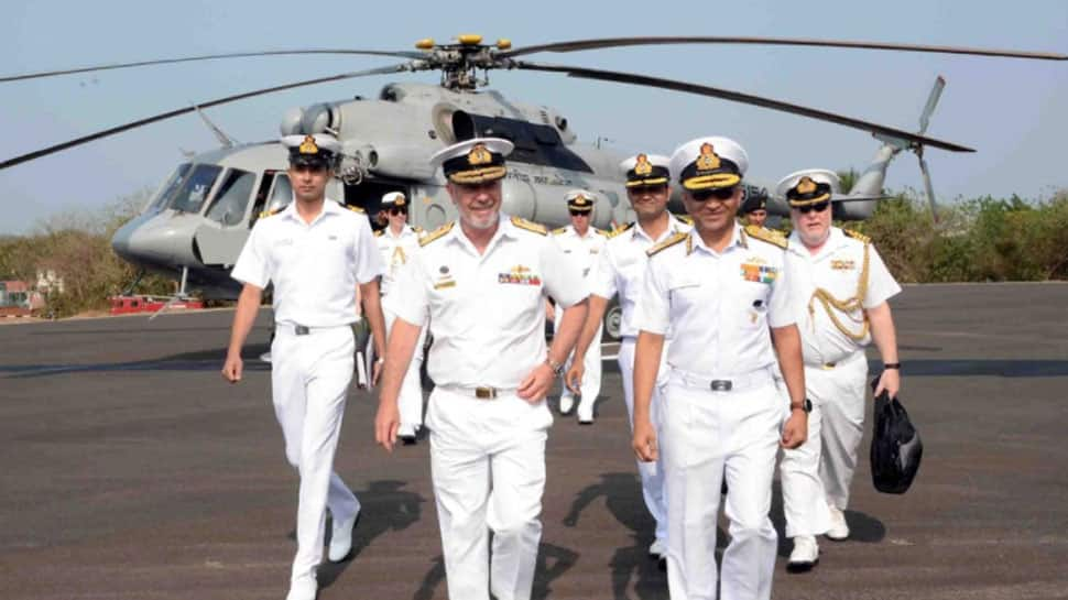 Royal Australian Navy chief visits Indian Naval Academy, discusses bilateral defence relations