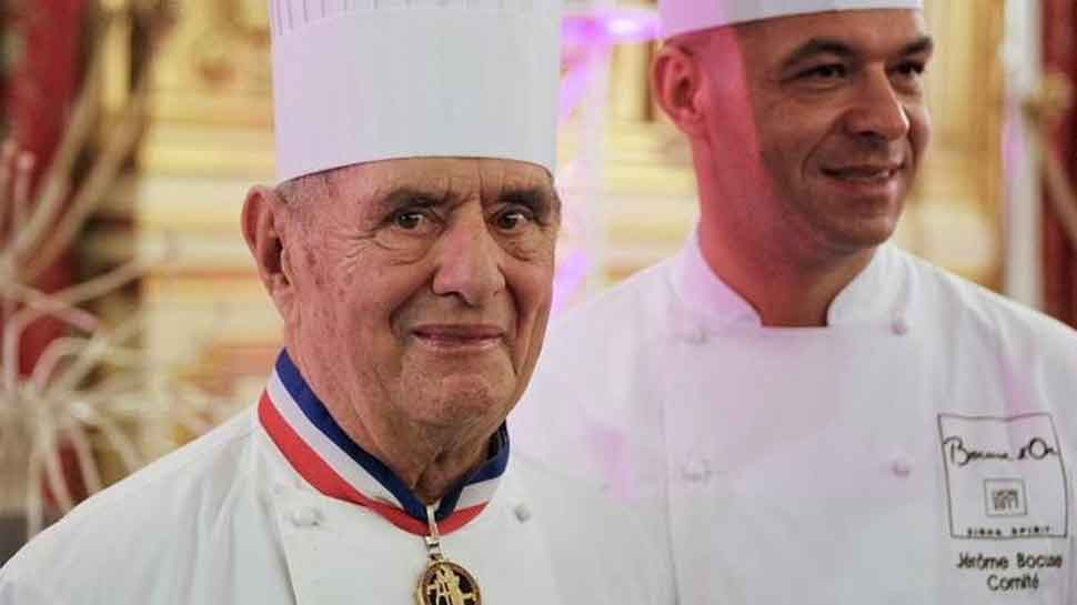 'Pope' of French cuisine Paul Bocuse dies age 91