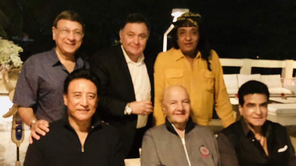 Rishi Kapoor, Danny Denzongpa, Prem Chopra and others reunite—See pic