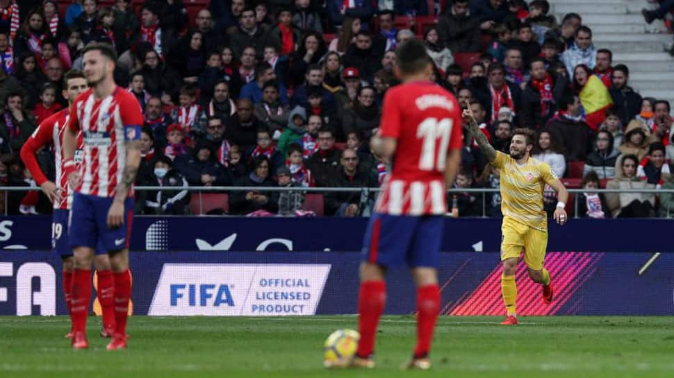La Liga: Atletico Madrid title hopes hit, Montella earns Sevilla win