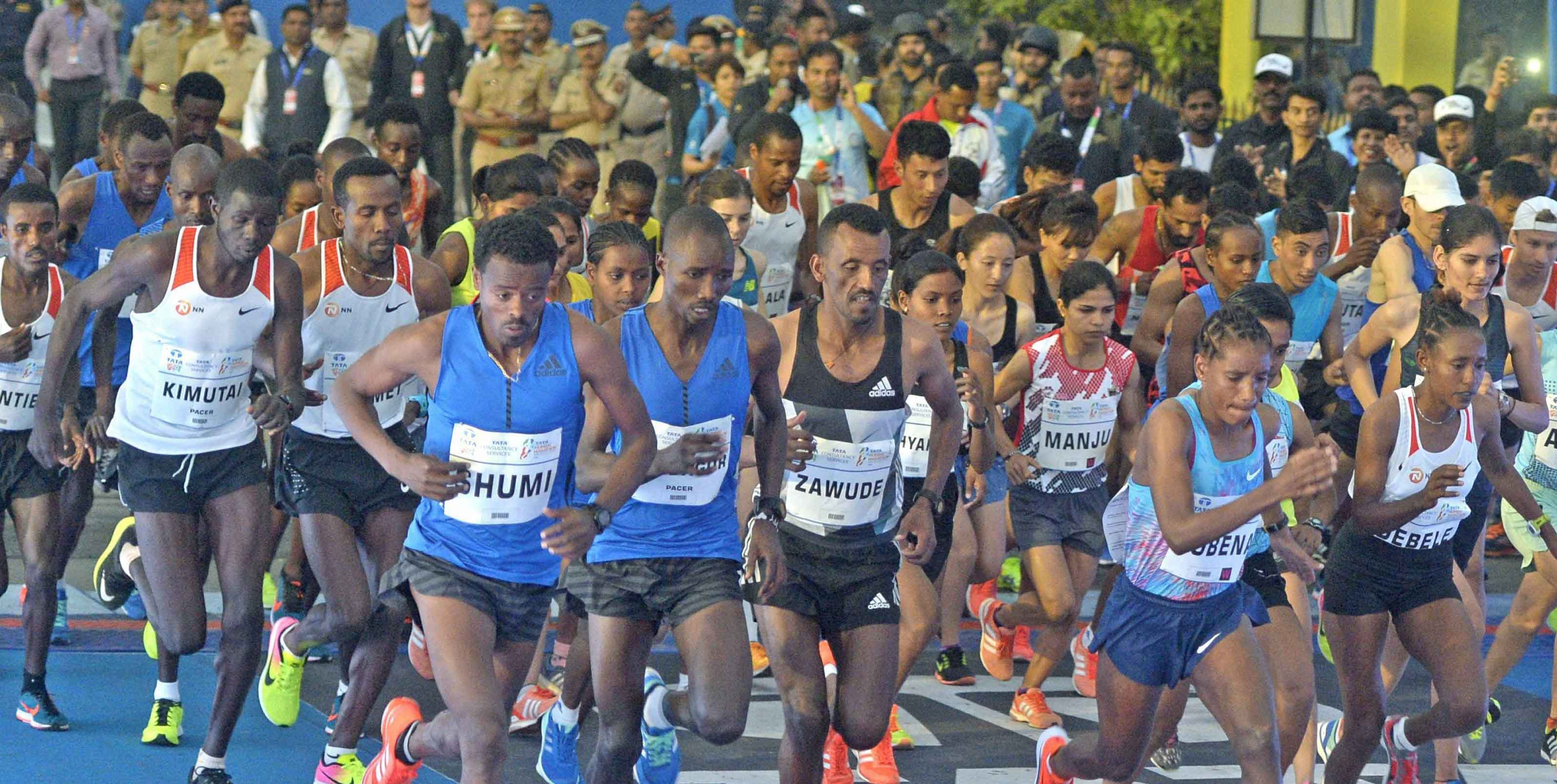 Mumbai Marathon 2018: People from all walks of life take part in annual sports event