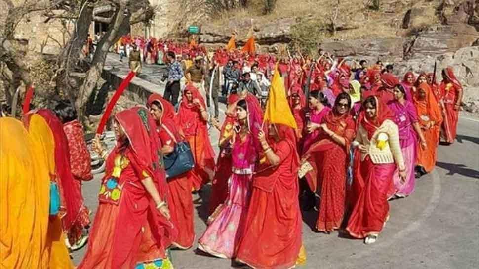 Protest rally held against Padmaavat, Sanjay Leela Bhansali in Rajasthan's Chittorgarh