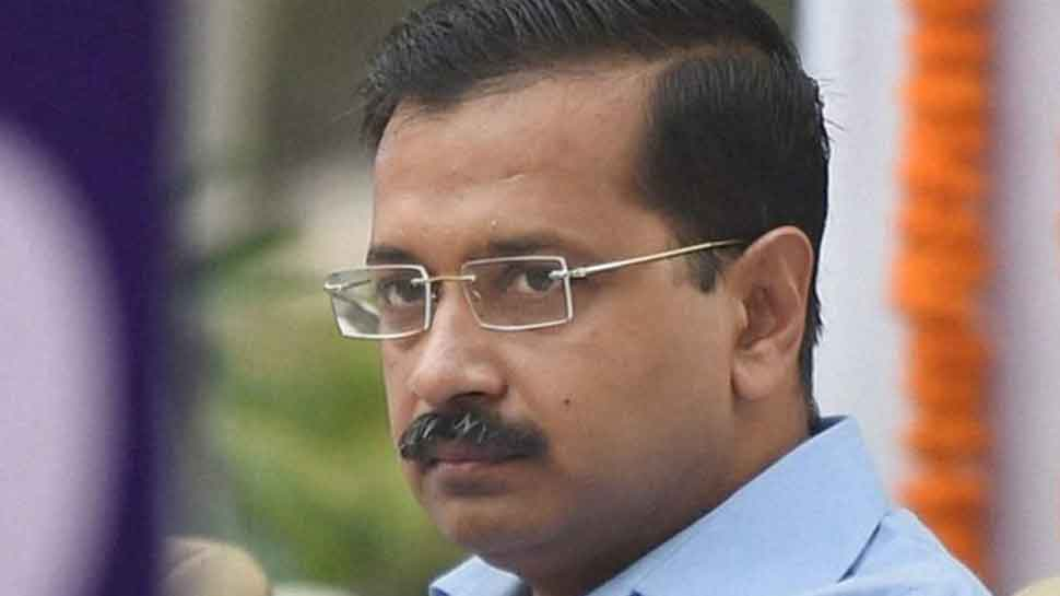 Delhi CM Arvind Kejriwal inaugurates project for laying sewer lines