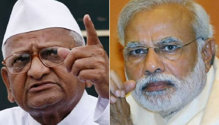 Wrote to Modi 30 times, never replied, has an ego: Anna Hazare