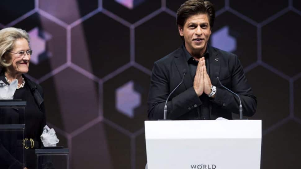 Shah Rukh Khan receives 24th Crystal Award at World Economic Forum, powers a brilliant speech—Watch video