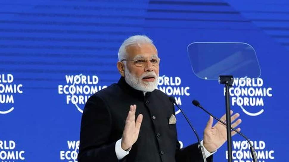 Anti-globalisation stand as much a threat as terrorism, climate change: PM Modi at Davos