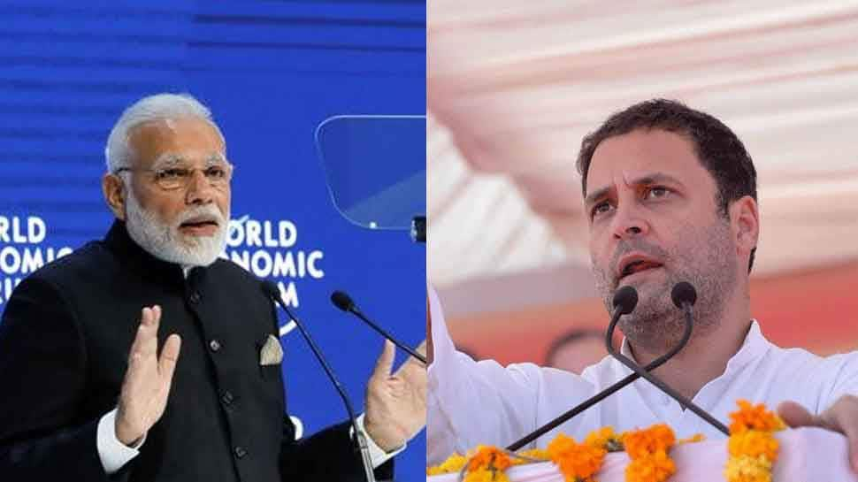 Rahul Gandhi's jibe at PM Modi: Tell Davos why 1% of Indians have 73% of wealth