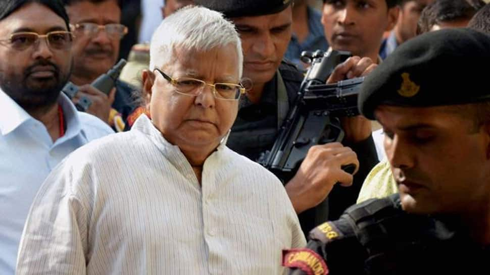 Jailed Lalu Prasad now convicted in third fodder scam case