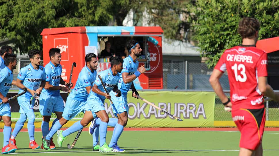 Four Nations Hockey: India clinch thrilling 5-4 win over Belgium in Hamilton
