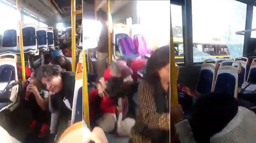 Gurugram bus attack: 18 men arrested for pelting stones sent to judicial custody