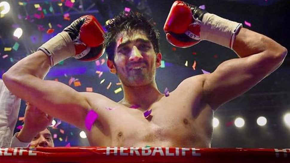 Vijender Singh rises to sixth in WBO rankings