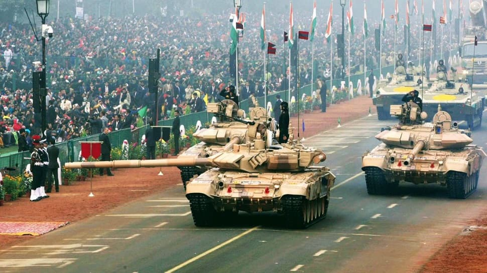 Image result for Artillery display in republic day 2019