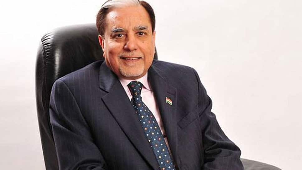 Rajya Sabha MP Subhash Chandra attends annual convocation of KIET college, stresses on practical training of students