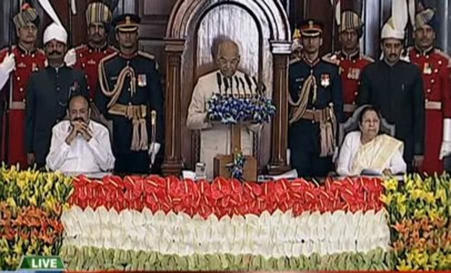 President Ram Nath Kovind kicks off Budget Session of Parliament; says target is to ensure housing for all by 2022