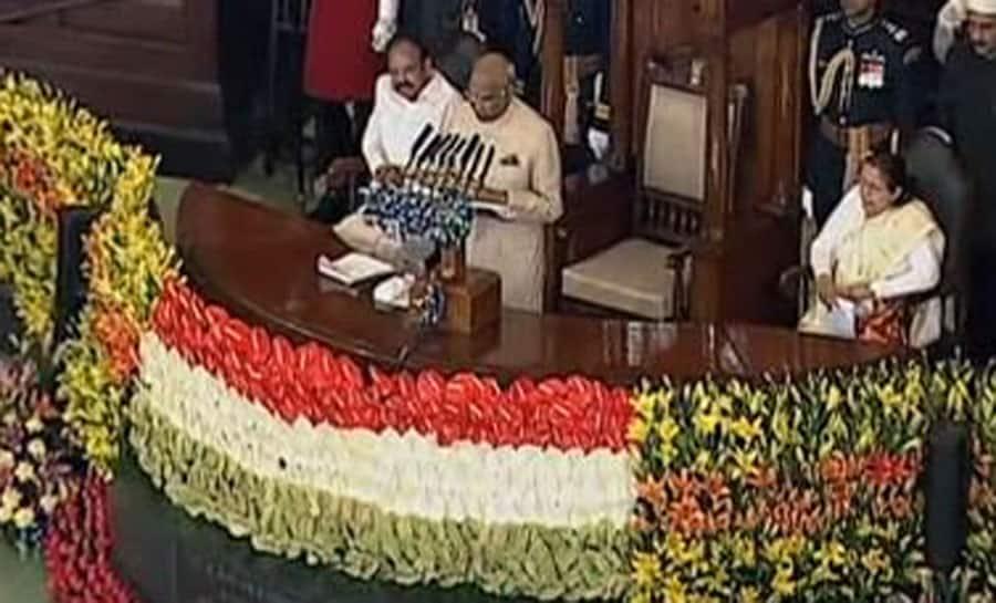 President Kovind addresses both Houses of the Parliament