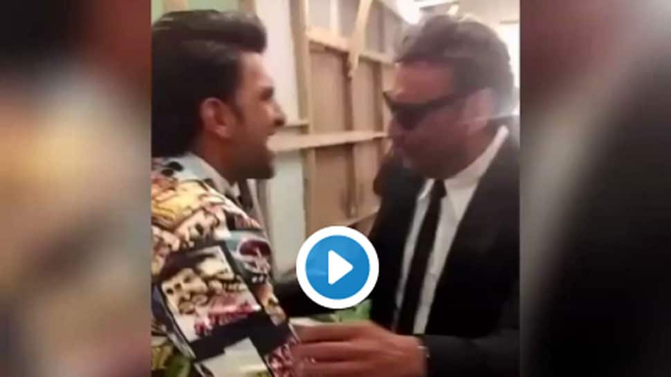Ranveer Singh and Jackie Shroff's backstage dance on Bappi Lahiri's song is the best thing on internet today—Watch