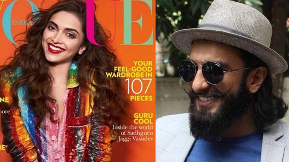 Deepika Padukone sizzles on Vogue cover; Ranveer Singh's reaction will melt your heart—See pic