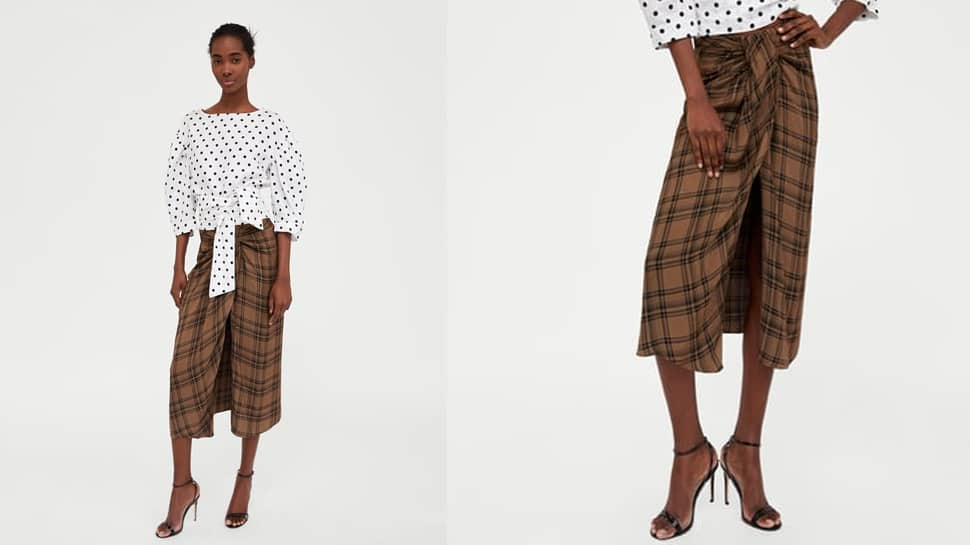 bec3894411 This 'mini skirt' by Zara resembles traditional lungi | Fashion News