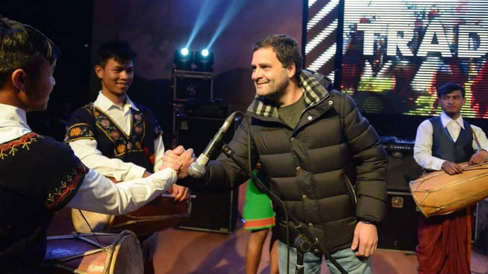Rahul Gandhi kickstarts Meghalaya poll campaign with a musical evening