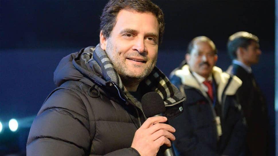 Rahul Gandhi wears Rs 70K jacket in Meghalaya; BJP's turn for 'suit-boot' jibe