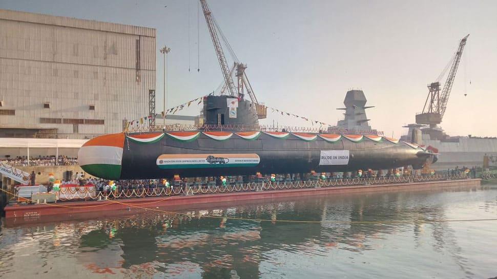 Karanj, third Scorpene class submarine, launched; to undergo rigorous trials now