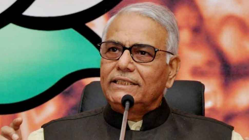Yashwant Sinha says will not leave BJP, party can expel him