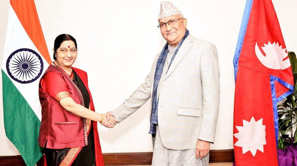 India's Nepal engagement: Oli, Sushma agree to 'forget past bitterness'