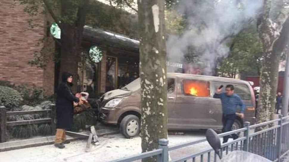 Minivan rams into pedestrians in Shanghai, 18 hurt: Reports