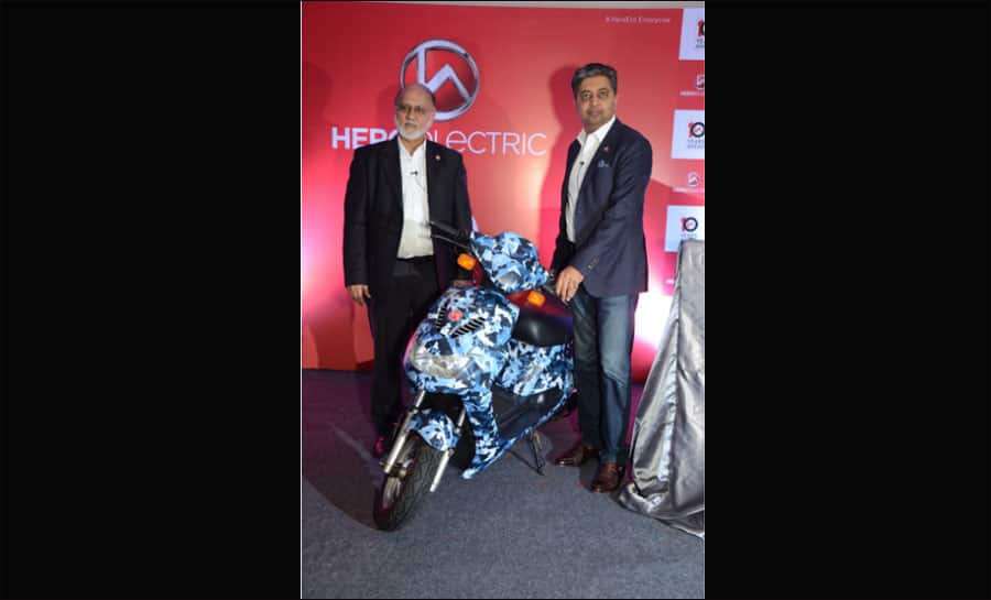Hero Electric unveils 3 electric two wheelers