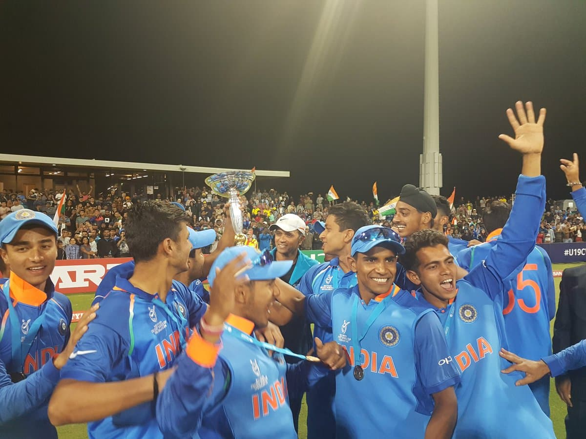 Under-19 final: Manjot Kalra Manjot takes centre stage as India beat Australia to win a record 4th World Cup