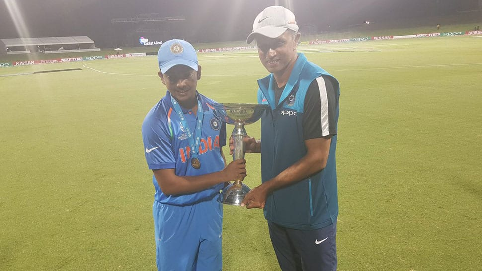 Hope they have many more great moments: Rahul Dravid's message for U-19 World Cup champions