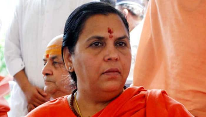Union Minister Uma Bharti admitted to AIIMS for high BP