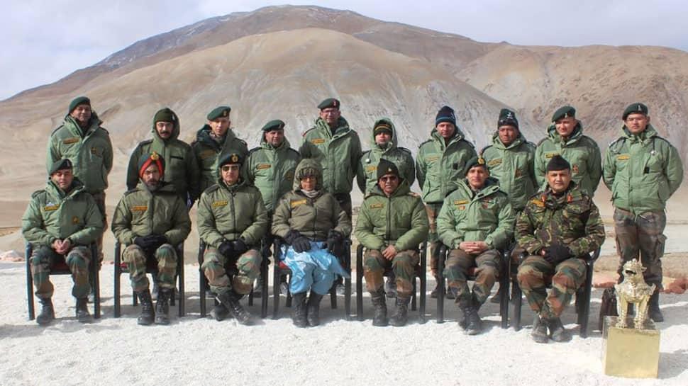 In Pics: Defence Minister Nirmala Sitharaman visits forward posts in Ladakh