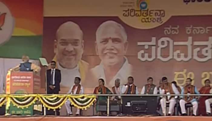 In Bengaluru, PM Narendra Modi vows to make Karnataka 'Congress-free'