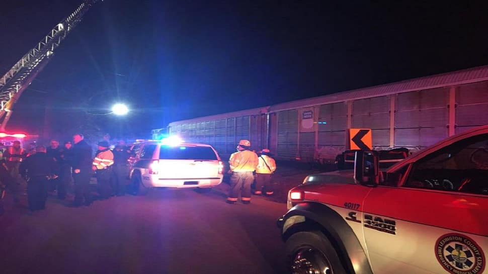 Two dead, 70 injured in South Carolina train crash in US