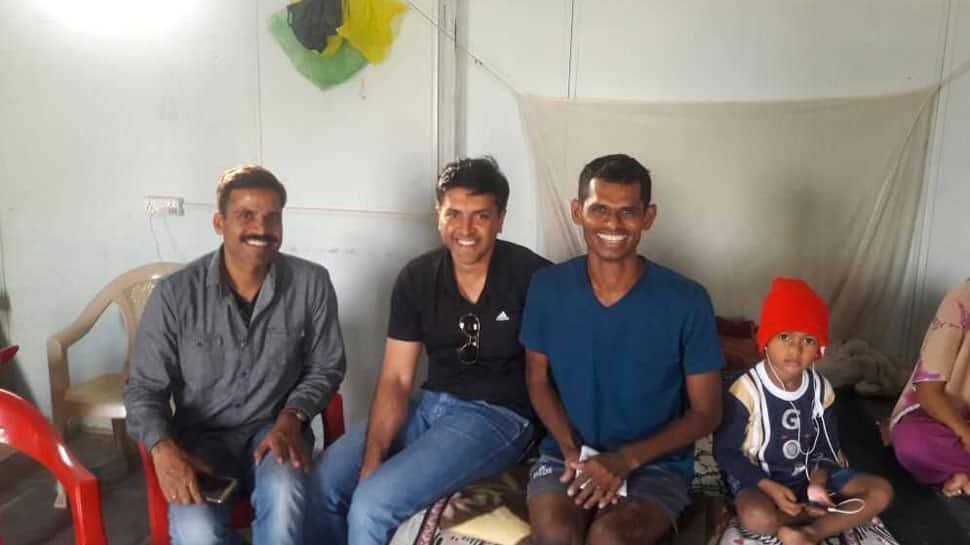 CRPF hero who lost both legs in blast returns to duty