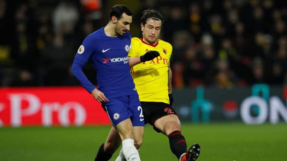English Premier League: Watford late show sinks 10-man Chelsea