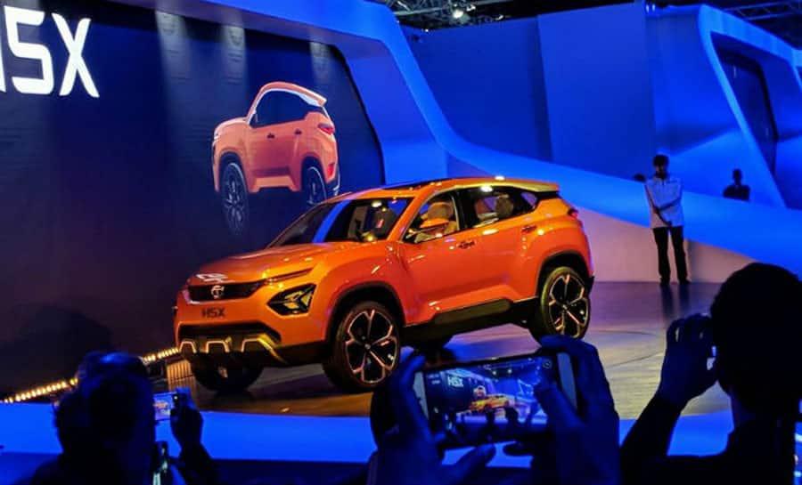 Auto Expo 2018: Tata H5x SUV Concept unveiled