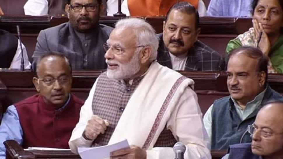 PM Narendra Modi's witty comeback to Congress leader Renuka Chowdhury had Rajya Sabha in splits