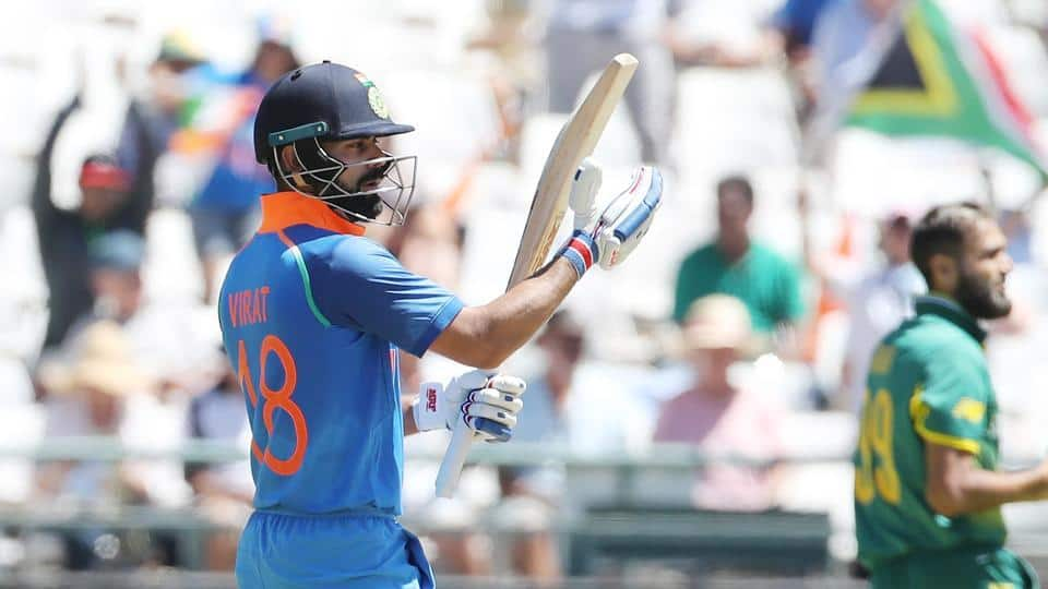 Virat Kohli's magnificent 160* puts India in the driver's seat at Cape Town