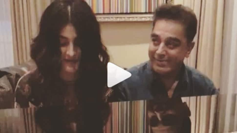 Kamal Haasan's jam session with daughter Shruti Haasan is breaking the internet—Watch video