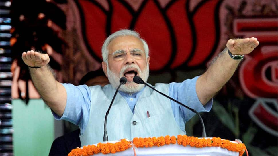 Modi targets 'magician' Manik Sarkar in Tripura rally, says 'his dark era will go soon'