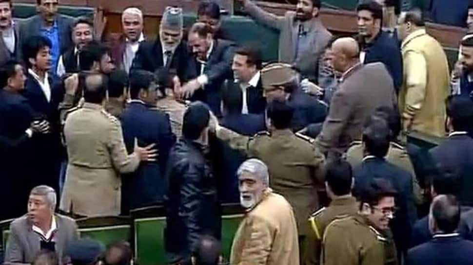 Opposition stages walkout from J&K Assembly on student's assault in Haryana