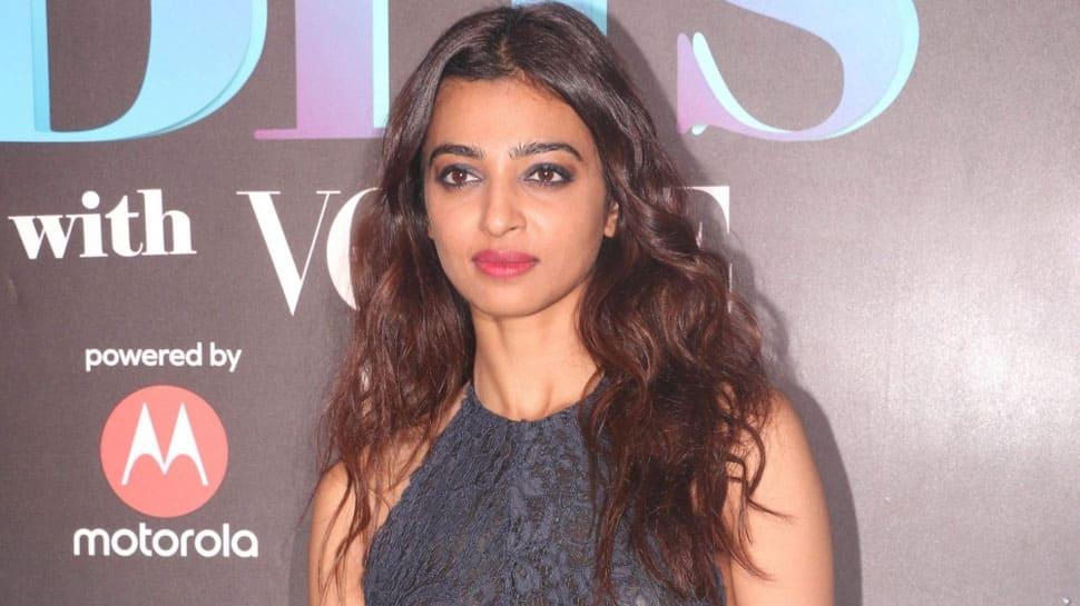 Radhika Apte makes time for 'PadMan' amid shoot