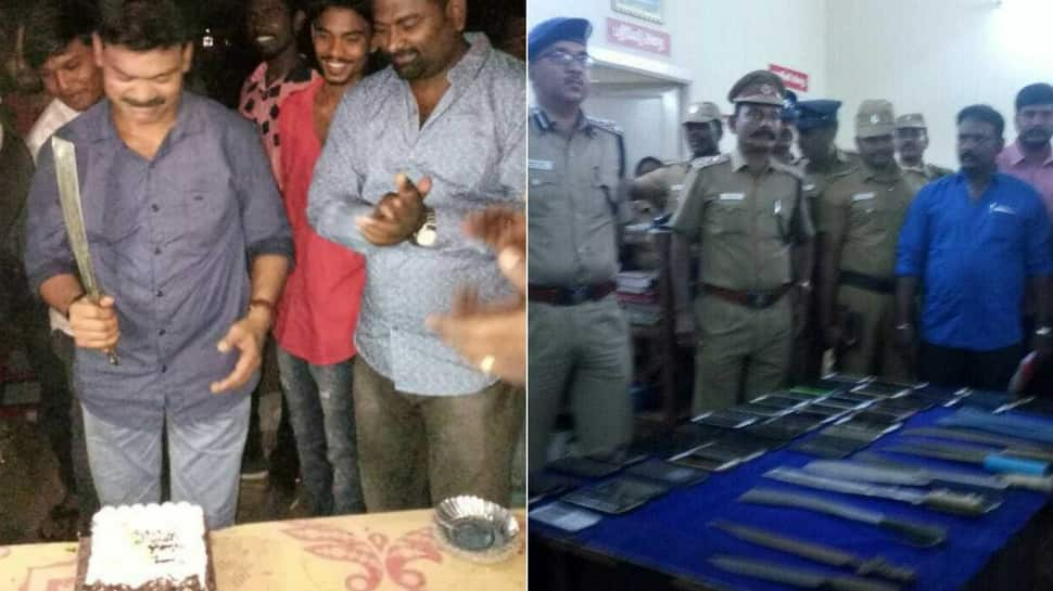 Jackpot for Chennai Police: 67 wanted gangsters arrested from a single birthday party