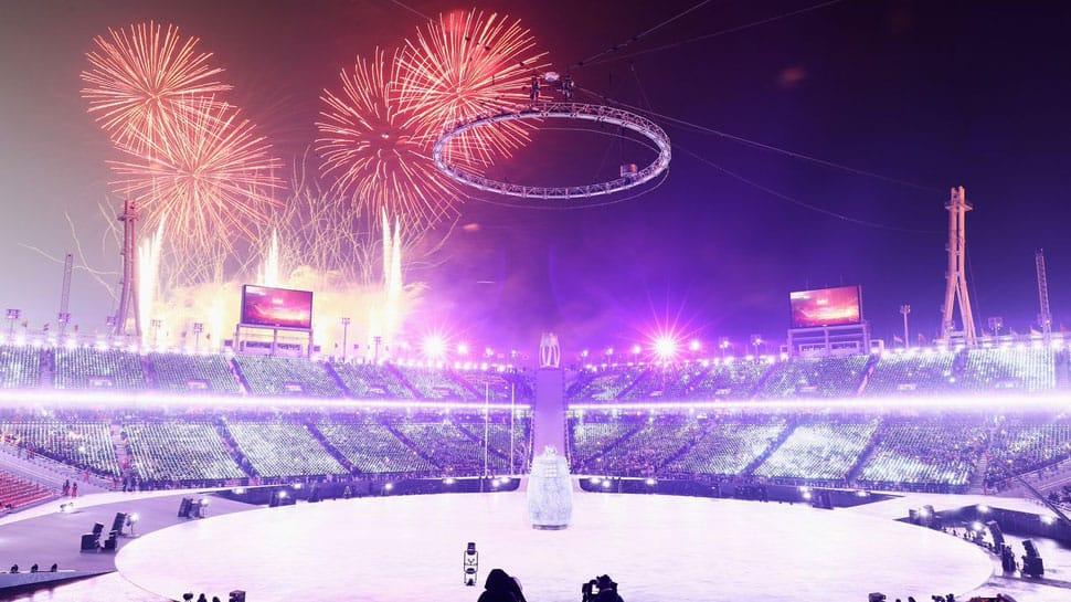 Korean unity, historic handshake at Pyeongchang Winter Olympics opening ceremony
